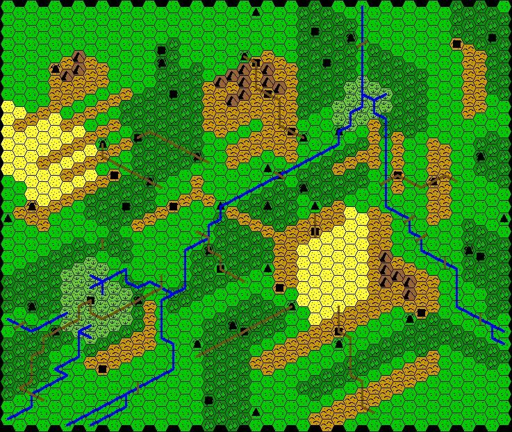 Redrawn Outdoor Survival Map