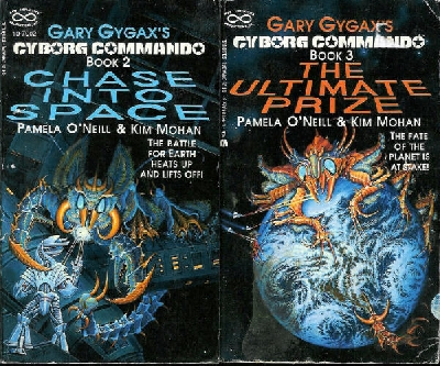 Cyborg Commando books 2 and 3